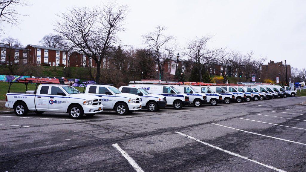 united hvac heating and plumbing fleet